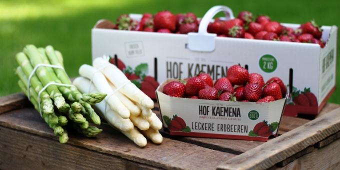 Erdbeerspargelhof Kaemena Oberneuland Bremen