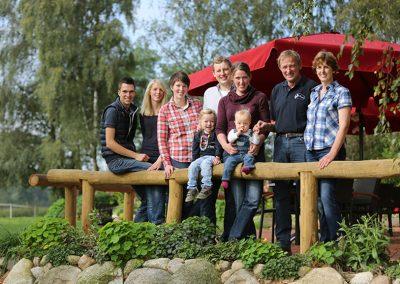 Familie derboven Hof Bünkemühle