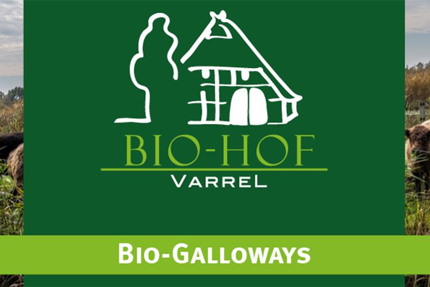Biohof Varrel Galloway bioeier stuhr